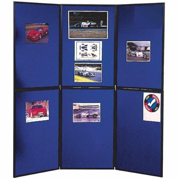 Nobo Display Board Portable 6 Panel B190043
