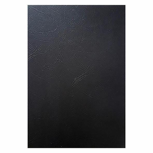 CUMBERLAND Leathergrain Binding Covers 280 Gsm A4 210 X 297mm Black Pack100 BC01