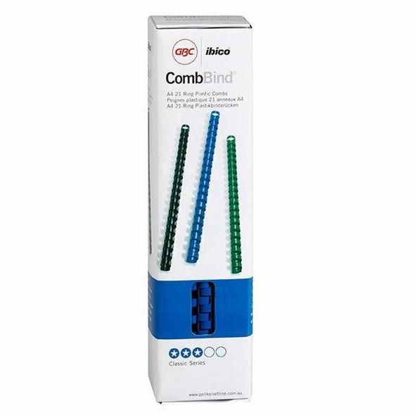 GBC Binding Comb 10mm Blue Pack100 BEP10BL100