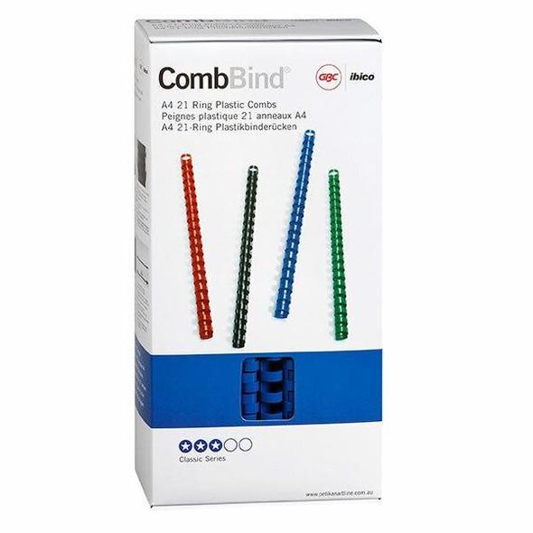 GBC Binding Comb 14mm Blue Pack100 BEP14BL100