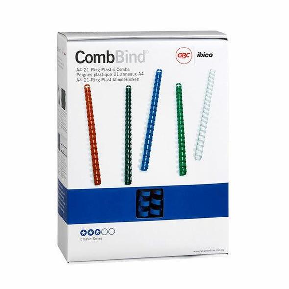 GBC Binding Comb 16mm Blue Pack100 BEP16BL100