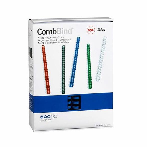 GBC Binding Comb 25mm Blue Pack50 BEP25BL50