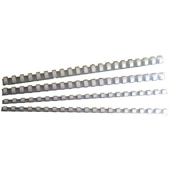 GBC Binding Comb 6mm White Pack100 BEP6W100