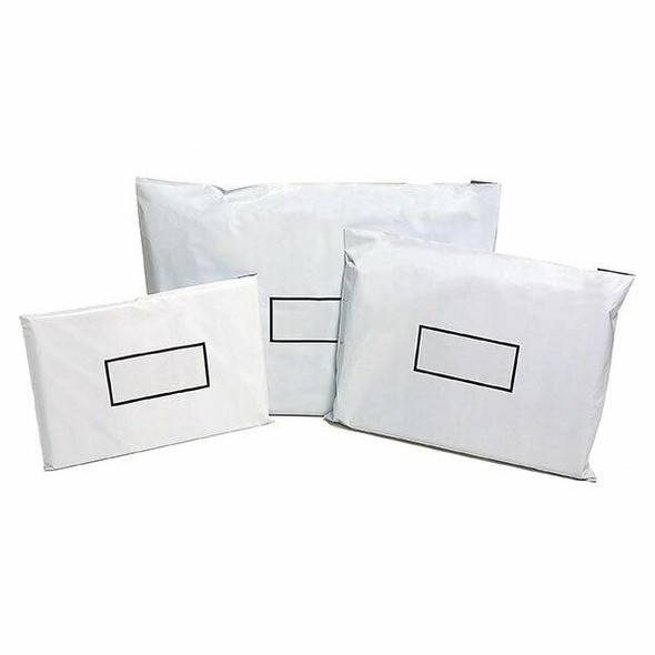 CUMBERLAND Courier Bags 225 X 375mm White Pack50 CBA4