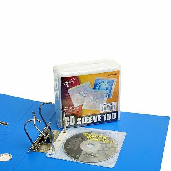 Aurora Cd Sleeve 2 Disc Pack100 CD2B100
