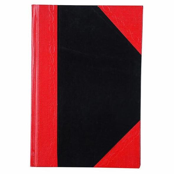 CUMBERLAND Red and Black Notebook A6 100 LeAnti-Fatigue FC6510