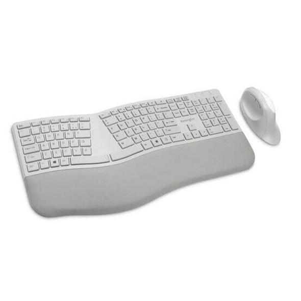 Kensington Dual Wireless Ergo Desktop Set Grey K75407US