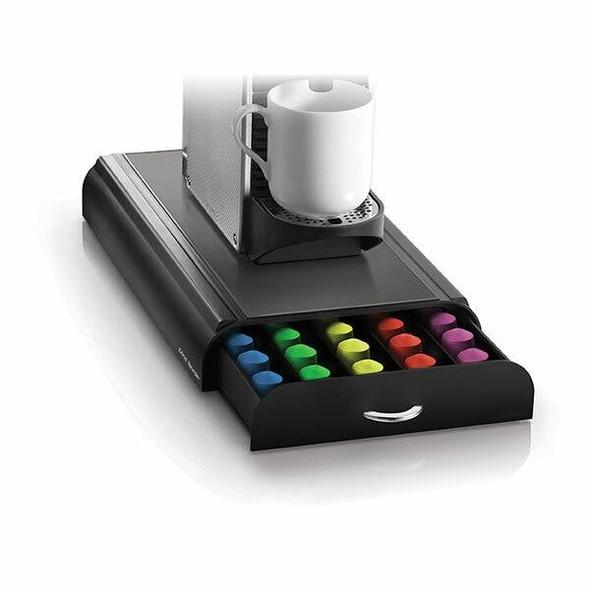 Esselte Anchor 50 Capacity Nespresso Drawer Blk NESTRY4PCBLK