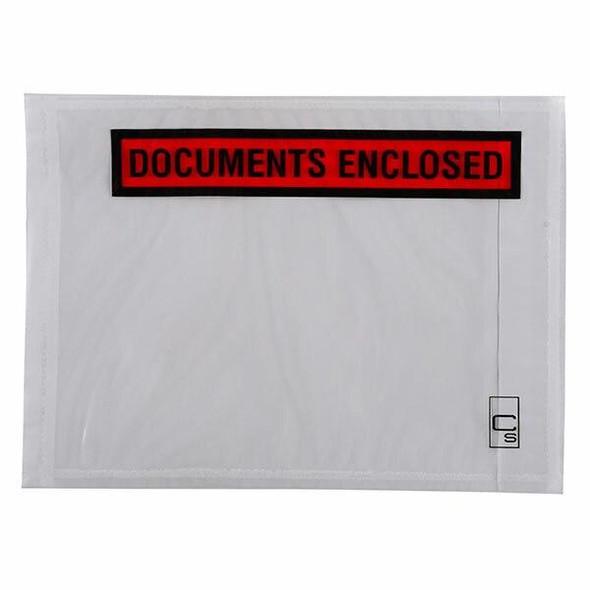 CUMBERLAND Packaging Envelope Documents Enclosed 155 X 115mm Box1000 OL200DE