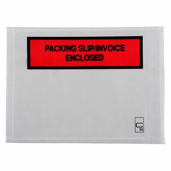 CUMBERLAND Packaging Envelope Packing Slip/Invoice Enclosed 155 X 115mm Box1000 OL200PS