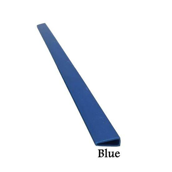 CUMBERLAND Slide Binding Strip A4 300 X 5mm Blue Pack25 OM635BL