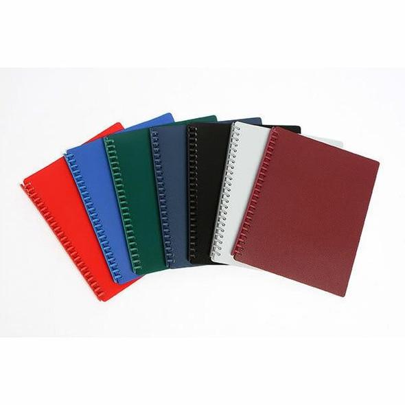 Marbig Premium Refillable Display Book A4 20 Pocket Burgundy OTW82BG