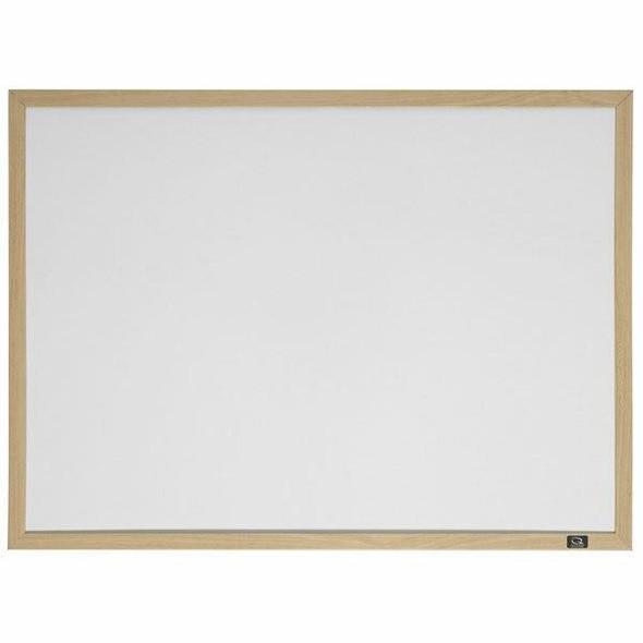 Quartet Whiteboard Oak Frame 580x890mm QT35-380382Q