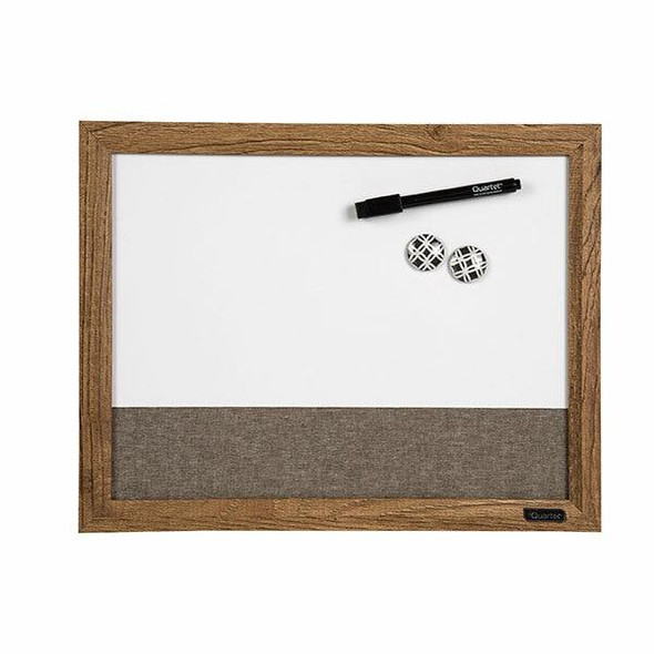 Quartet Combo Board Wood Frame 280x356mm X CARTON of 6 QT50717