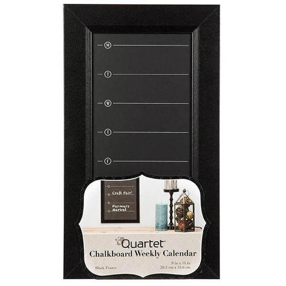 Quartet Planner Board Weekly Chalk 203x356mm X CARTON of 6 QT50720