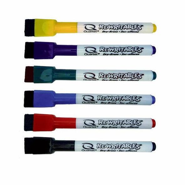 Quartet Marker Rewritables Fine Assorted Pack6 X CARTON of 6 QT51-659312Q