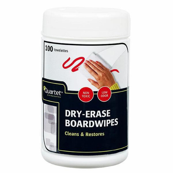 Quartet Dry-Erase Boardwipes 100Pack QTBOARDWIPE50