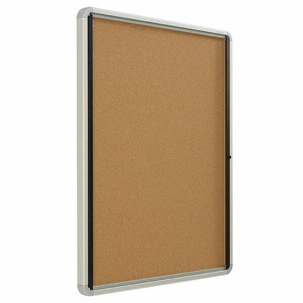 Quartet Enclosed Board Cork 762x990mm QTEIHC3930