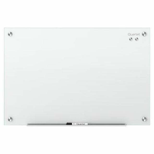 Quartet Glass Board Infinity 600x900mm White QTG3624W