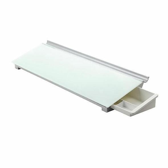 Quartet Glass Board Desktop 150x460mm QTGDP186