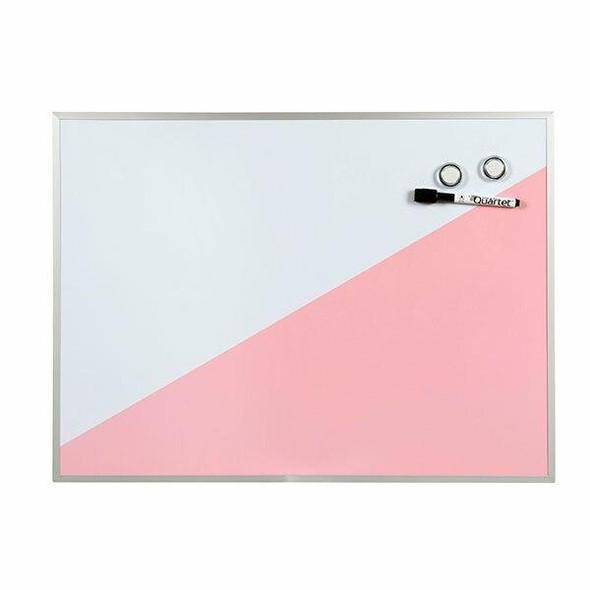 Quartet Geo Whiteboard Pink 430x580mm QTGEO5843PK