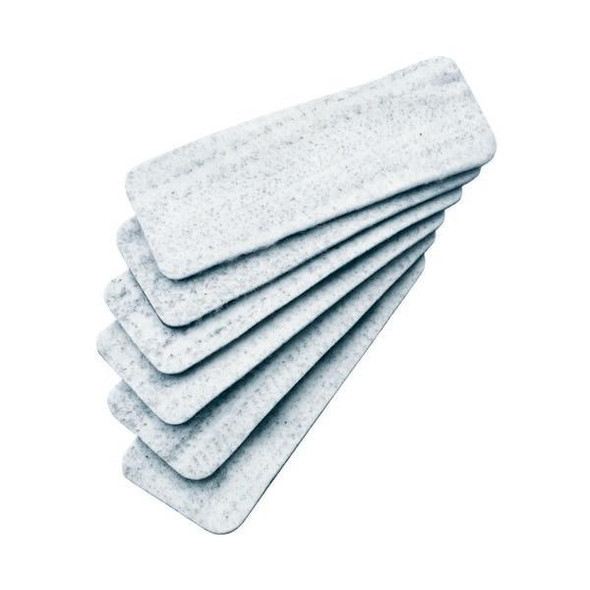 Quartet Eraser White Board Magnetic Refill Pack6 QTMAGREFILLS