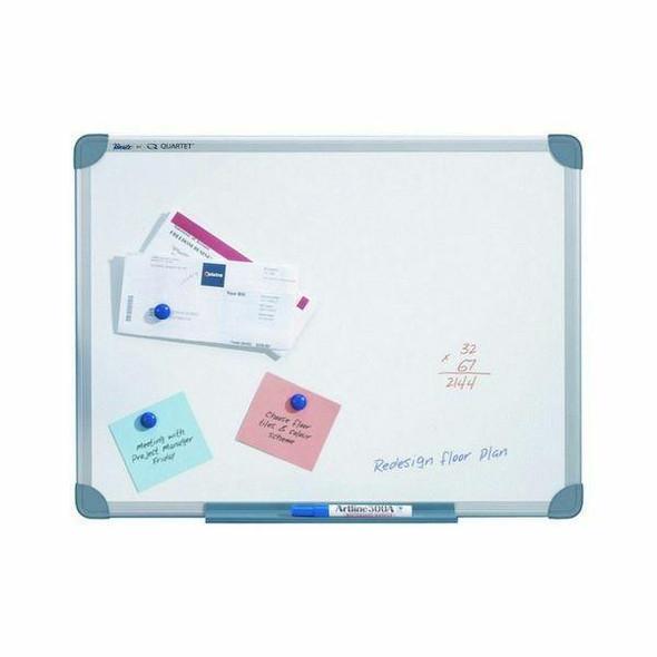 Quartet Whiteboard S/Line Magnetic 450x600mm X CARTON of 4 QTMG0456R
