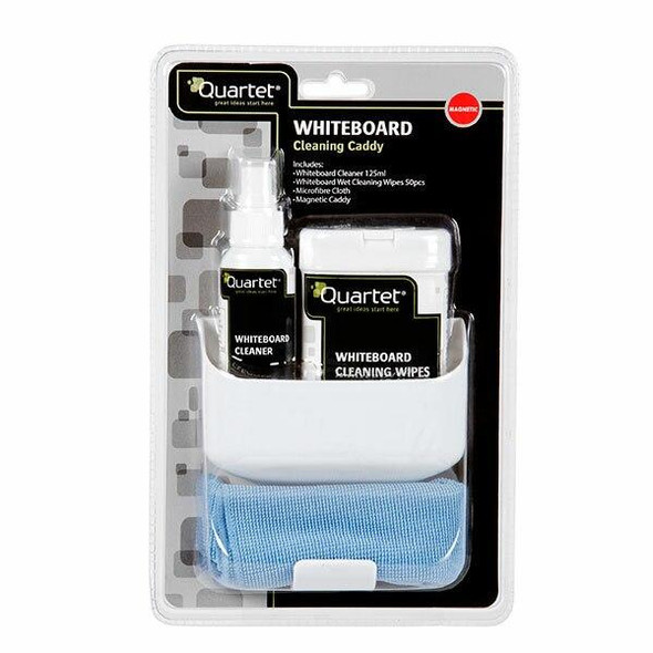Quartet Whiteboard Cleaning Caddy W/Magnetic Tray QTMGMKT