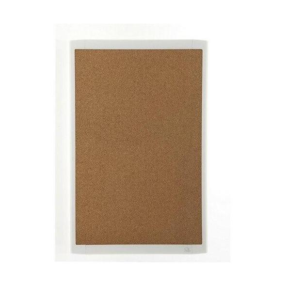 Quartet Corkboard White Frame 280x430mm QTMHOB1117