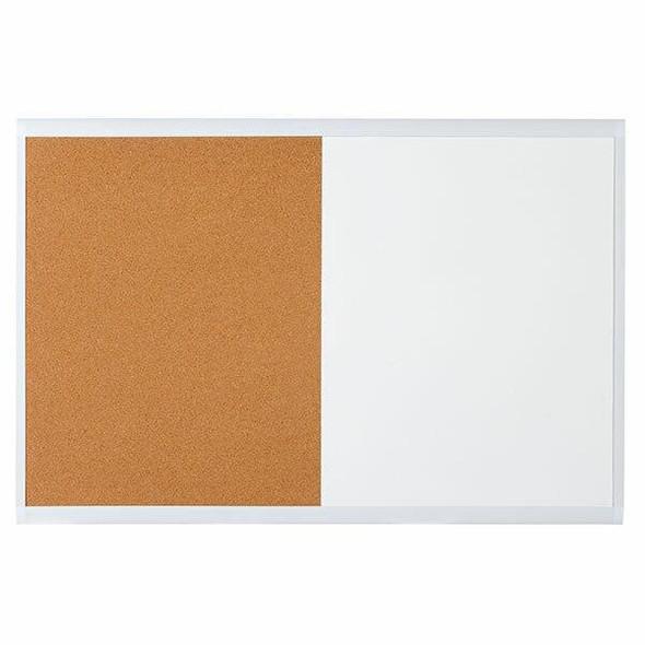 Quartet Combo Board White Frame 600x900mm X CARTON of 4 QTMHOC0906