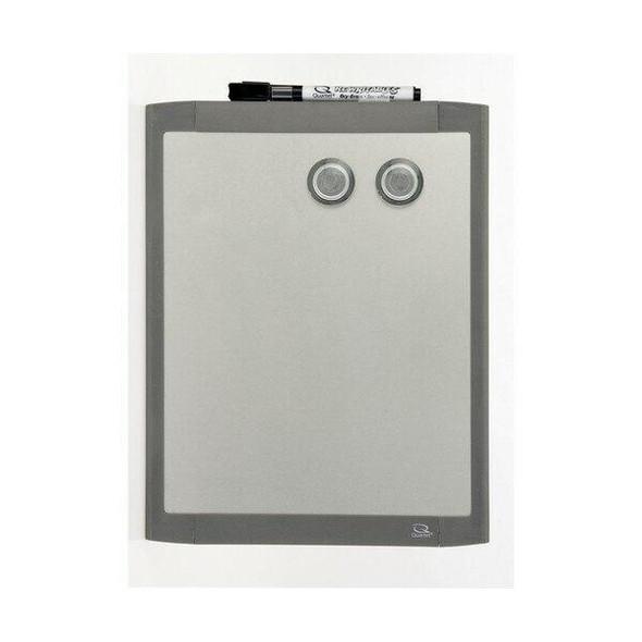 Quartet Whiteboard S/Steel Silver 220x280mm QTMHOS8511
