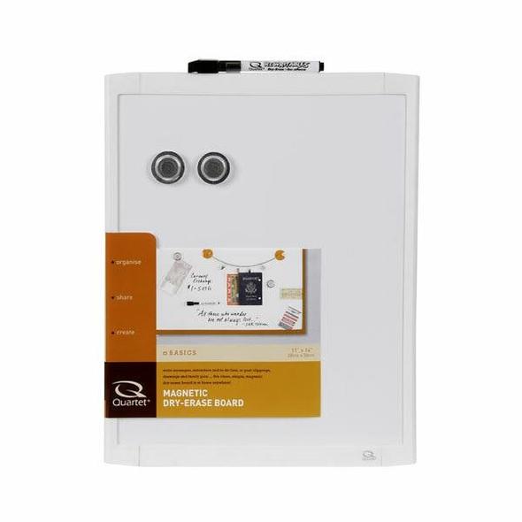 Quartet Whiteboard Basics 280x360mm White X CARTON of 6 QTMHOW1114W