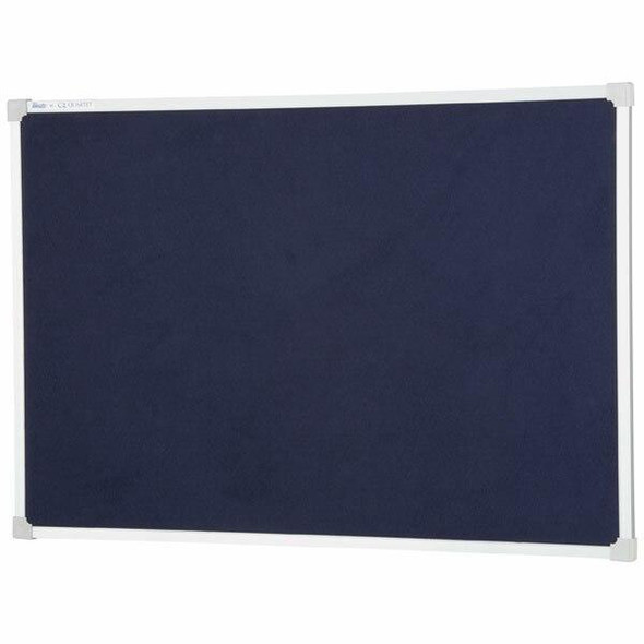 Quartet Penrite Bulletin Board Felt 600x900mm Blue QTNFF0906B