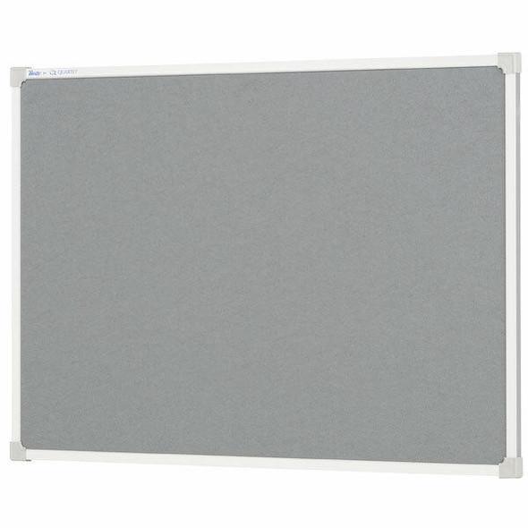Quartet Penrite Bulletin Board Felt 600x900mm Grey QTNFF0906G