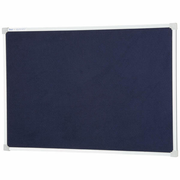 Quartet Penrite Bulletin Board Felt 900x1200mm Blue QTNFF1209B