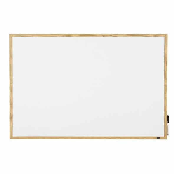 Quartet Whiteboard Pine Frame 450x600mm QTNNCM0456