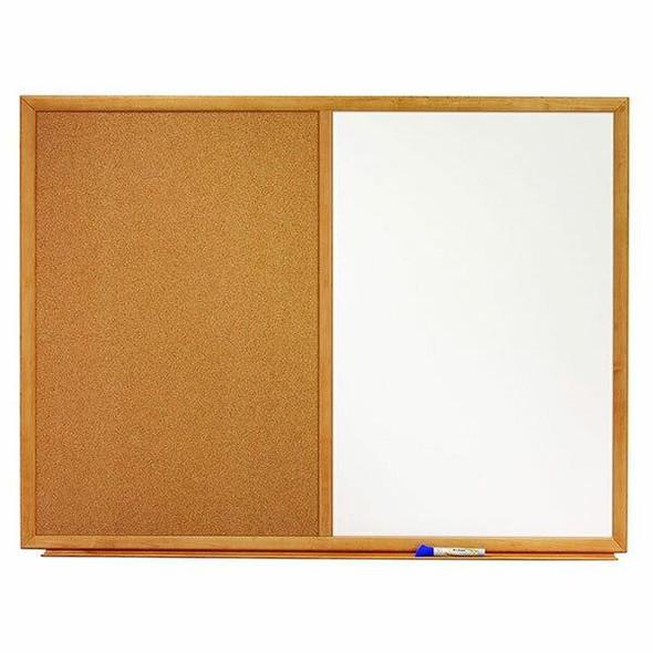 Quartet Combo Board Oak Frame 600x900mm QTS553