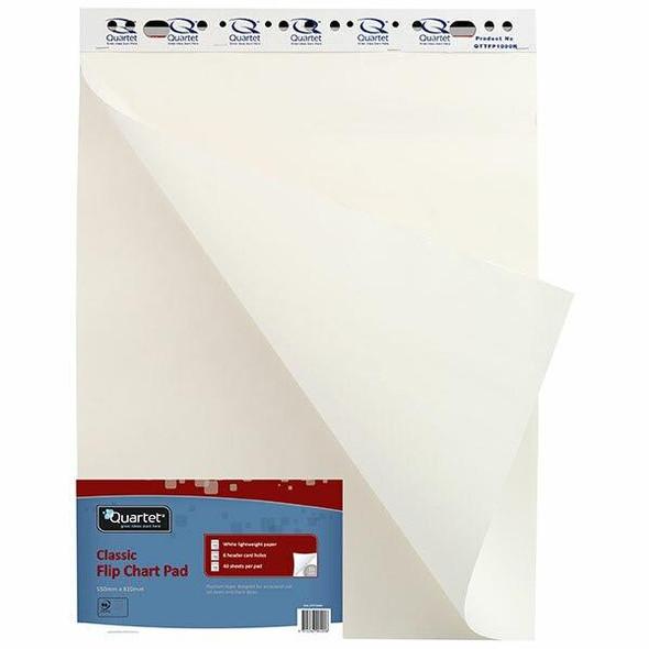 Quartet Flipchart Pad 40 Sheets Retail X CARTON of 6 QTTFP1000R