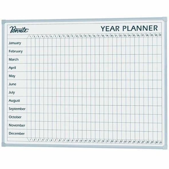 Quartet Penrite Planner Board Year 600x900mm QTYEAR0906