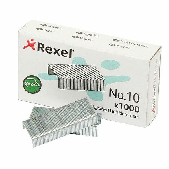Rexel Staples No.10 Box1000 Mini X CARTON of 20 R06150