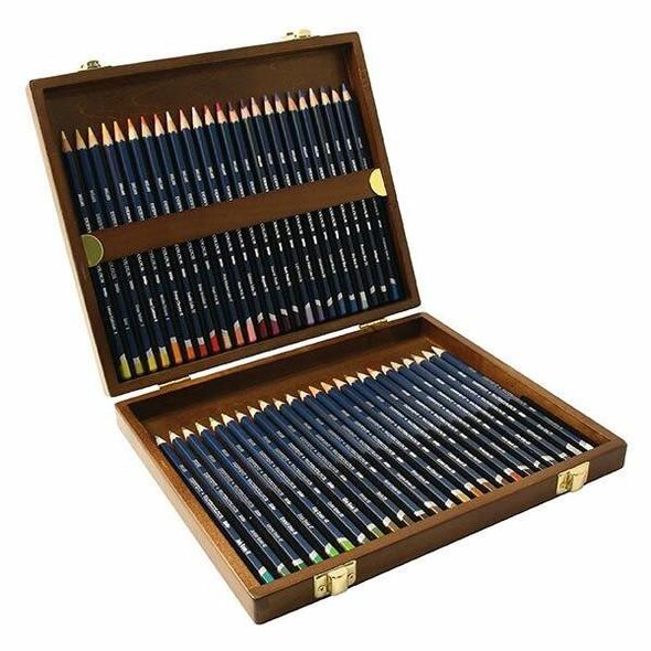 DERWENT Watercolour Pencil Wooden Box48 R0700758