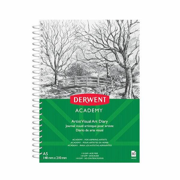 DERWENT Academy Drawing Pad A5 Portrait 80 Pages X CARTON of 5 R31125F