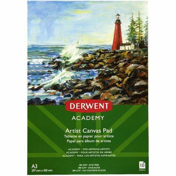 DERWENT Academy Canvas Pad A3 X CARTON of 5 R31330F