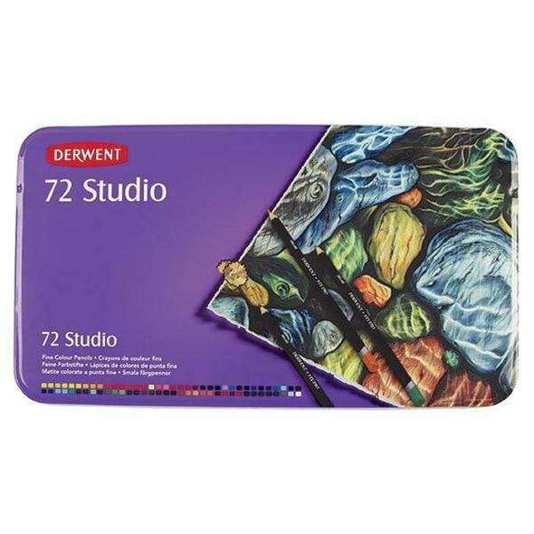 DERWENT Studio Pencil Tin 72 R32200