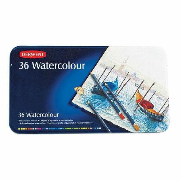 DERWENT Watercolour Pencil Tin 36 X CARTON of 2 R32885