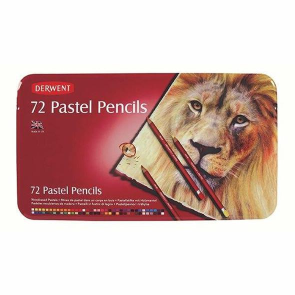 DERWENT Pastel Pencil Tin 72 R32996