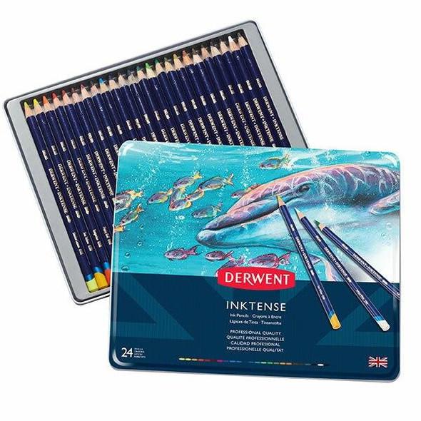 DERWENT Inktense Pencil Tin 24 X CARTON of 3 R700929