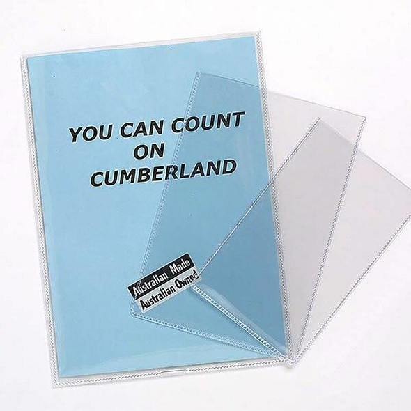 CUMBERLAND Document Holder 125 Micronron A4 Clear SP6335