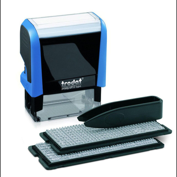 Trodat 4912 Printy Text Stamps Typo Diy Set 4 Lines T4049529