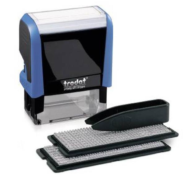 Trodat 4913 Printy Text Stamps Typo Diy Set 5 Lines T4049539